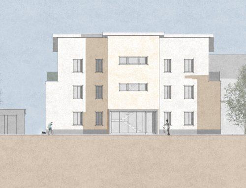 MFH in Ebertsheim, Pfarrgasse: Neubau eines Mehrfamilienwohnhauses mit 6 Wohneinheiten